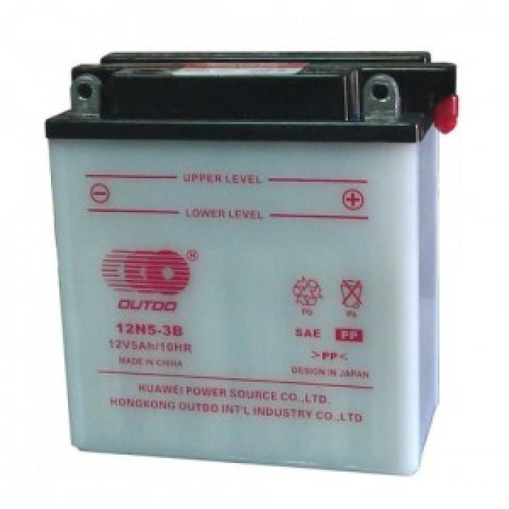 Аккумулятор MOTO Y60-N 24L-A OUTDO (12V, 28A)