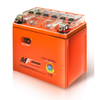 Аккумулятор MOTO YB 16L-BS(GEL) OUTDO (12V, 19A) (оранж)