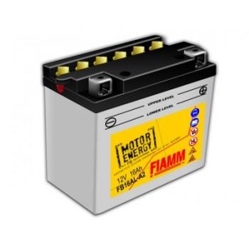 Мото аккумуляторы Flooded FIAMM FB16AL-A2