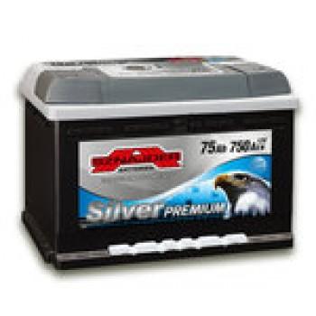 АКБ SZNAJDER Silver Premium 6СТ- 75Aз 750A R