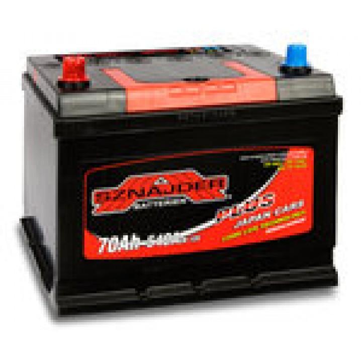 Автомобильный аккумулятор SZNAJDER Plus Jp 6СТ- 70Aз 540A L (570 24)