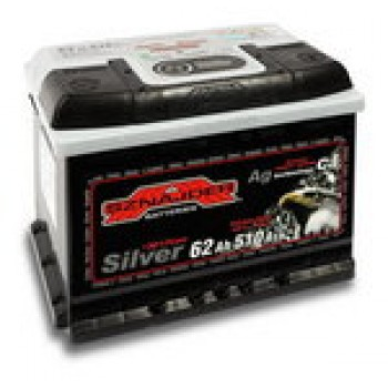 Автомобильный аккумулятор SZNAJDER Silver 6СТ- 62Aз 540A R (562 25)
