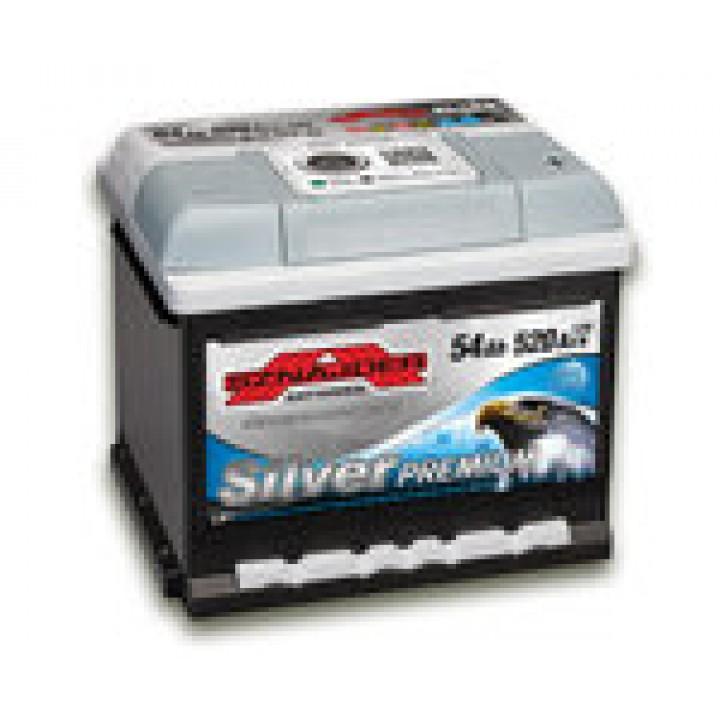 Автомобильный аккумулятор SZNAJDER Silver Premium 6СТ- 62Aз 620A L