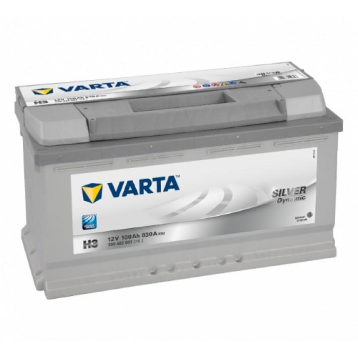АКБ VARTA 6CT-100Aз 830A R 600 402 083 SD (H3)