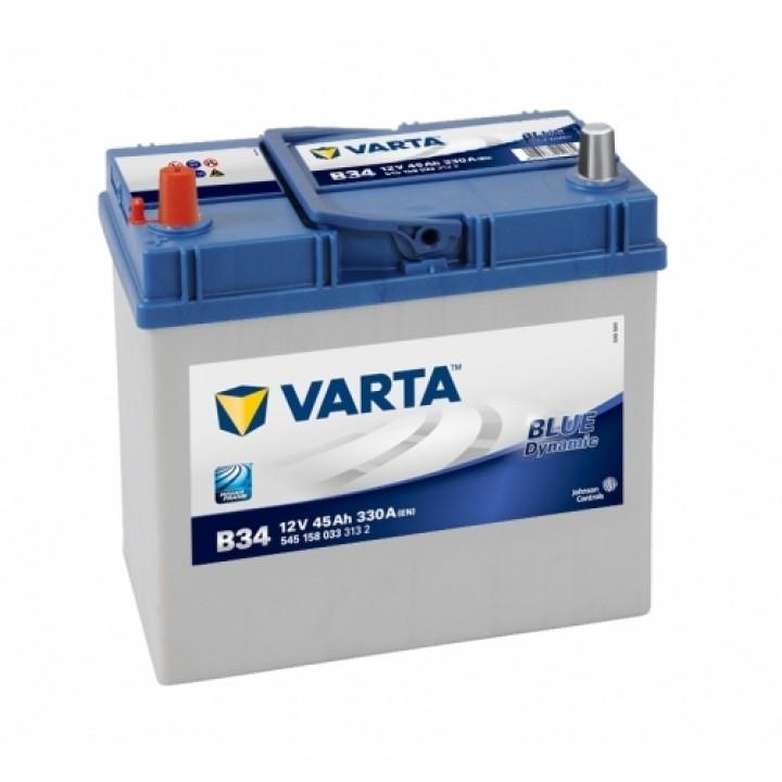 АКБ VARTA 6CT-45Aз 330А L 545 158 033 BD (B34)