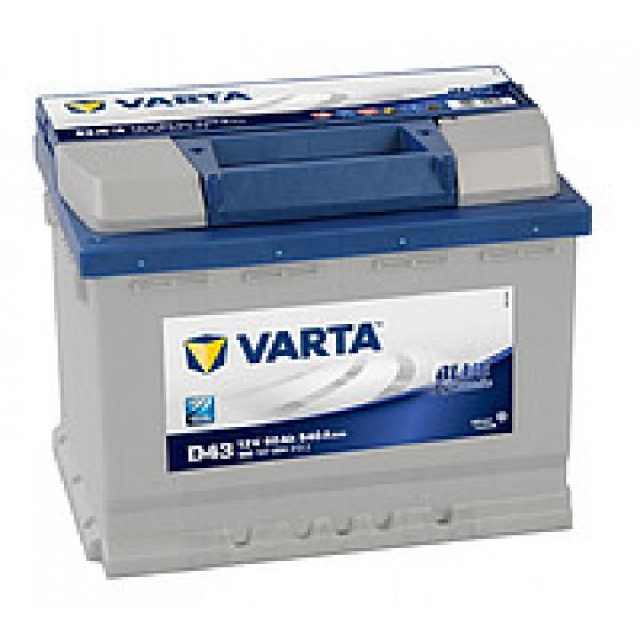 АКБ VARTA 6CT-60Aз 540A L 560 127 054 BD (D43)