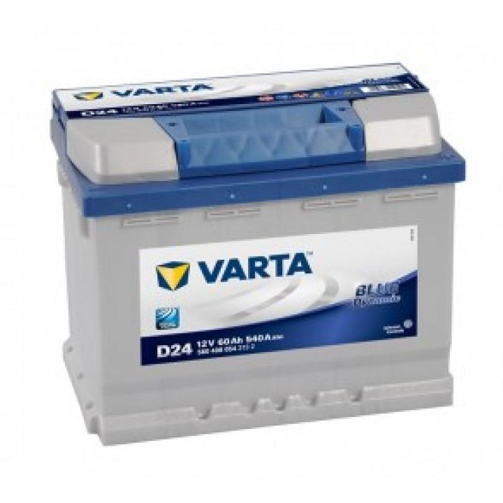 АКБ VARTA 6CT-60Aз 540A R 560 408 054 BD (D24)