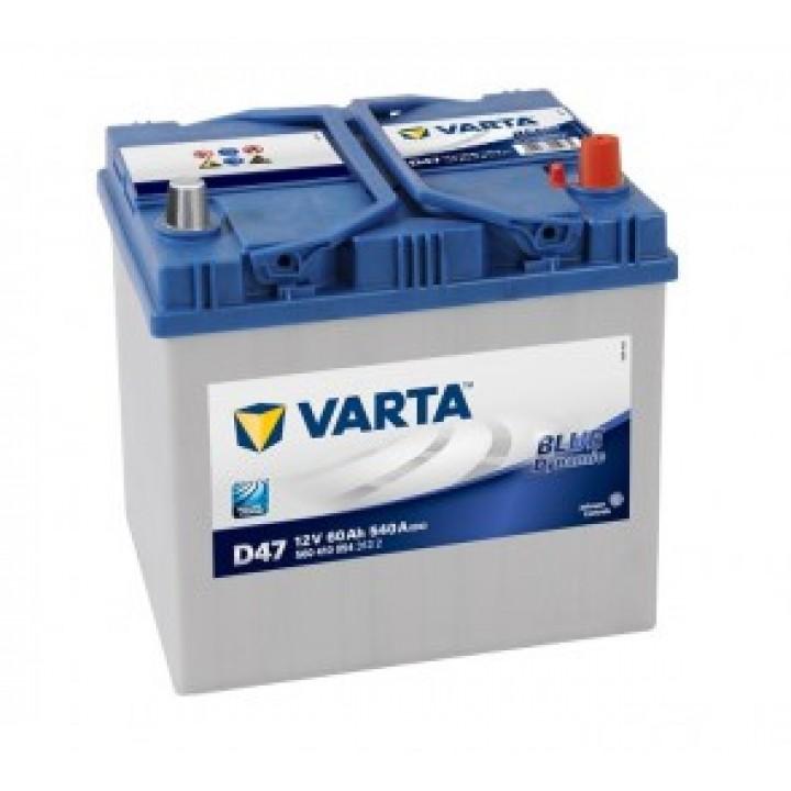 АКБ VARTA 6CT-60Aз 540A R JP 560 410 054 BD (D47)