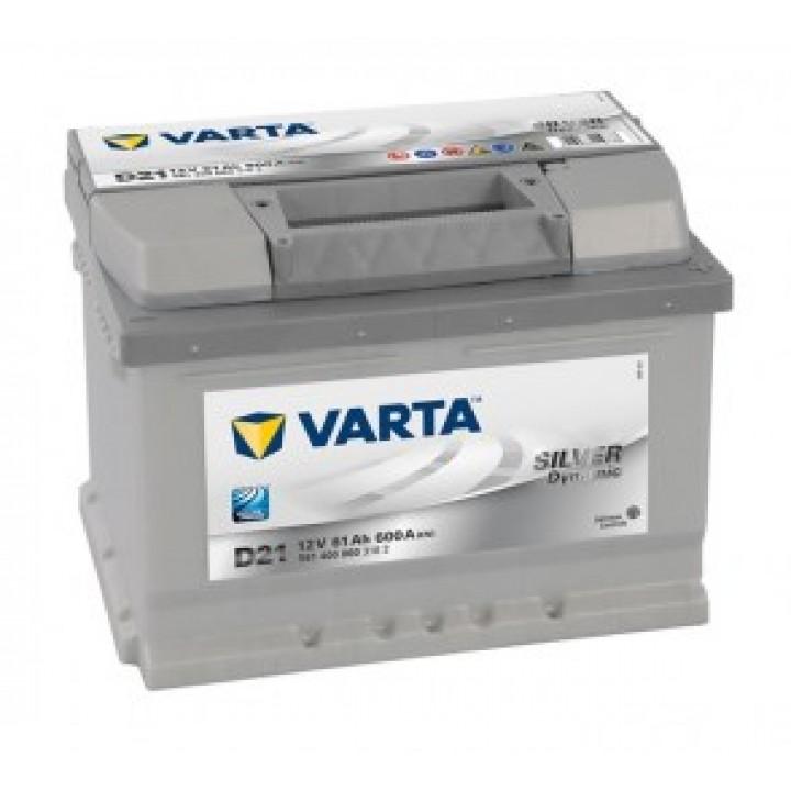 АКБ VARTA 6CT-61Aз 600A R 561 400 060 SD (D21) h=175