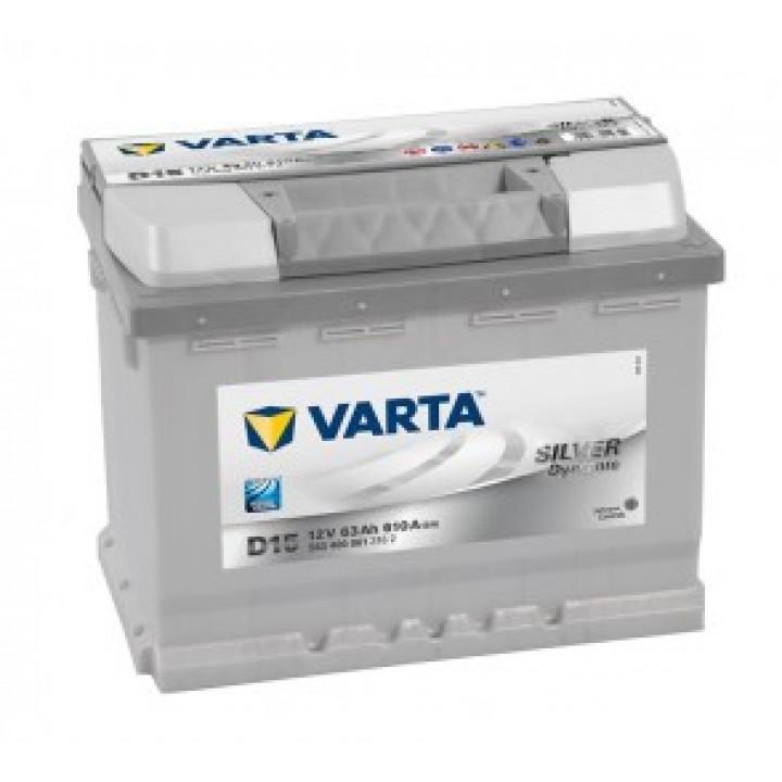 АКБ VARTA 6CT-63Aз 610A R 563 400 061 SD (D15)