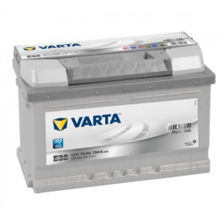 АКБ VARTA 6CT-74Aз 750А R 574 402 075 SD (E38) h=175