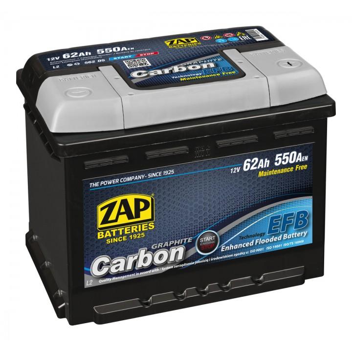 АКБ ZAP Carbon Start Stop EFB 6СТ-80Аз 750А R (580 08)