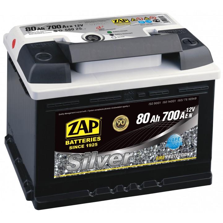 АКБ ZAP Silver 6СТ- 62Aз 540A R (562 25)