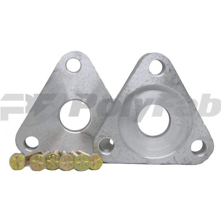 Алюминиевые проставки на переднюю подвеску для автомобиля Ford (14-15-004МН 20 мм)