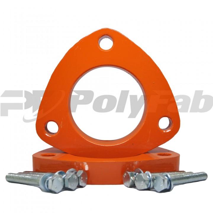 Проставки опор передних стоек Volvo алюминиевые 20мм (27-15-001М20)