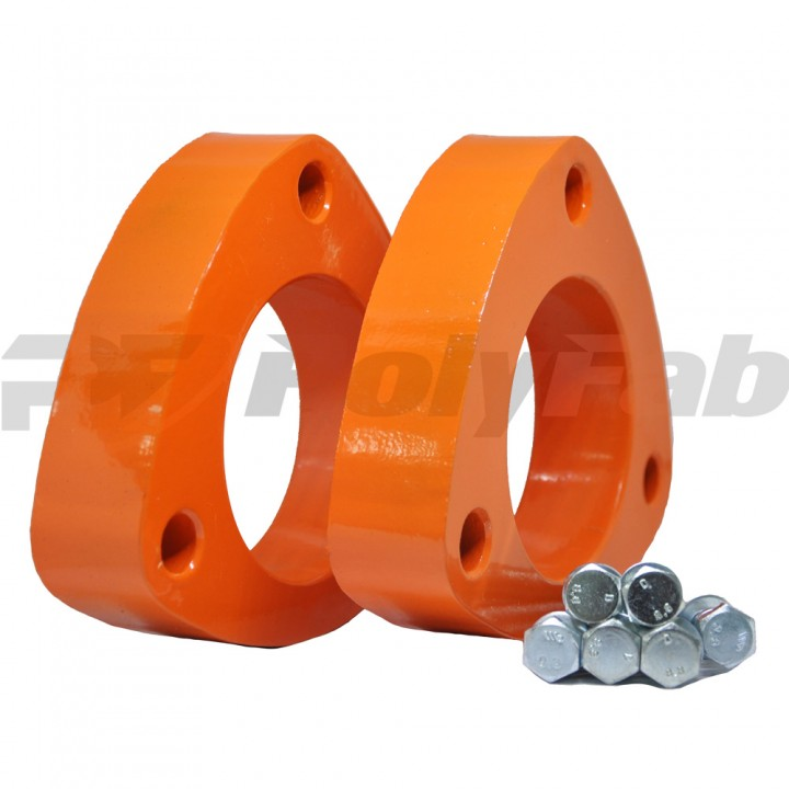 Проставки опор передних стоек Honda алюминиевые 30мм (07-15-002М30)