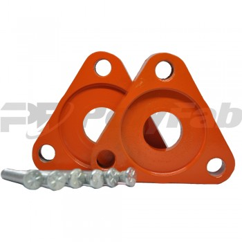 Алюминиевые проставки на переднюю подвеску для автомобиля Ford (14-15-004М 20 мм)