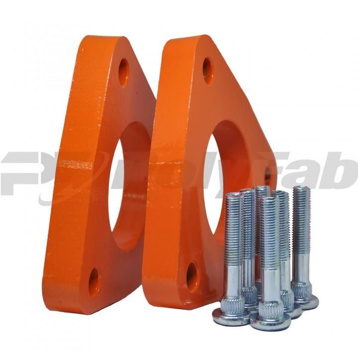 Проставки опор передних стоек KIA алюминиевые 20мм (17-15-011М20)