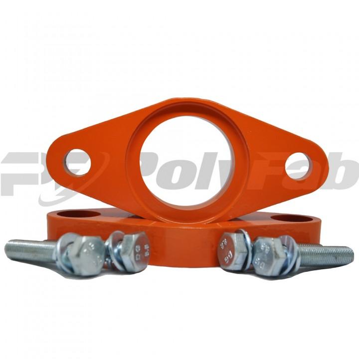 Проставки опор задних амортизаторов Hyundai алюминиевые 20мм (19-15-009М20)